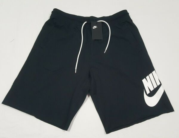 Nike Sportswear Mens French Terry Shorts AT5267 010 Black