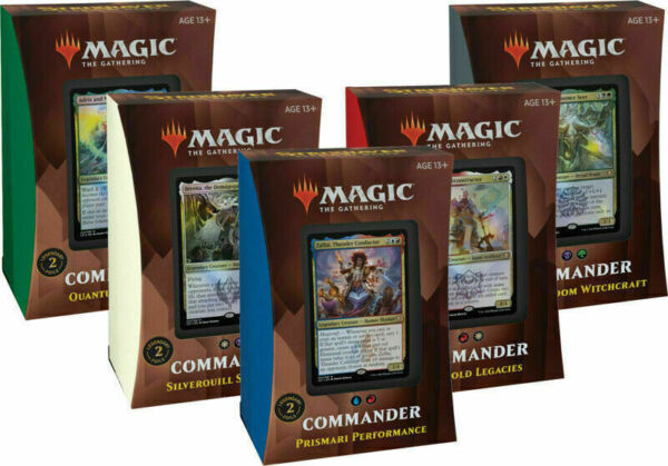 Strixhaven Commander 2021 Decks Set of all 5 IN STOCK SEALED NEW $148.44