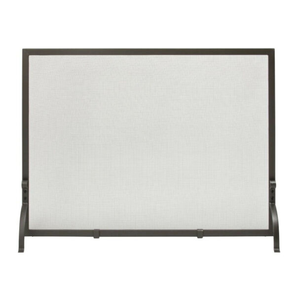 Olde World Iron 44 in. W Single Panel Fireplace Screen by UniFlame