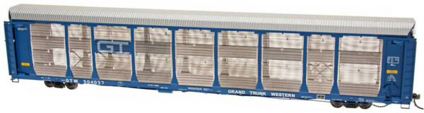 Intermountain HO Scale 89#x27; Bi Level Auto Rack Carrier Grand Trunk Western GTW $92.99