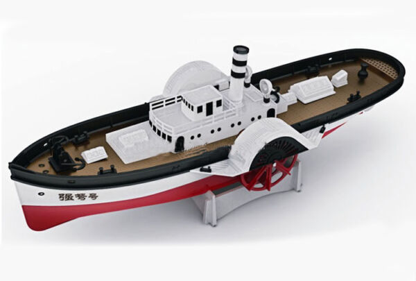 FuJing model electric assembly model quot;STRONG BOWquot; Paddle Steamer ship model $55.50