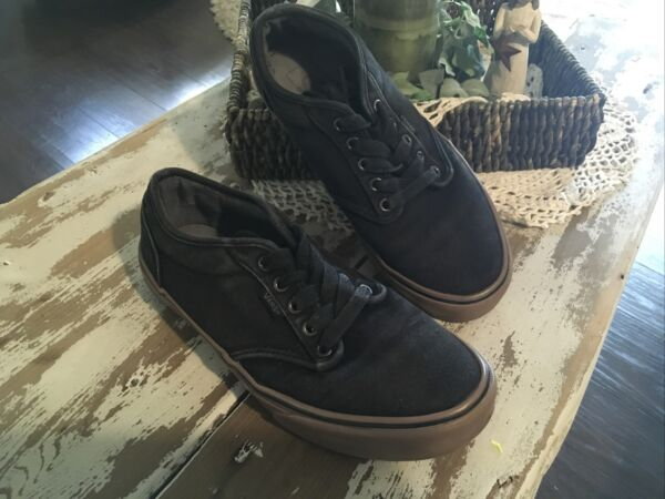 Vans Off Wall Lace Low Top Skateboard Shoes Black 721461 Sneakers Mens 8.5 $23.00