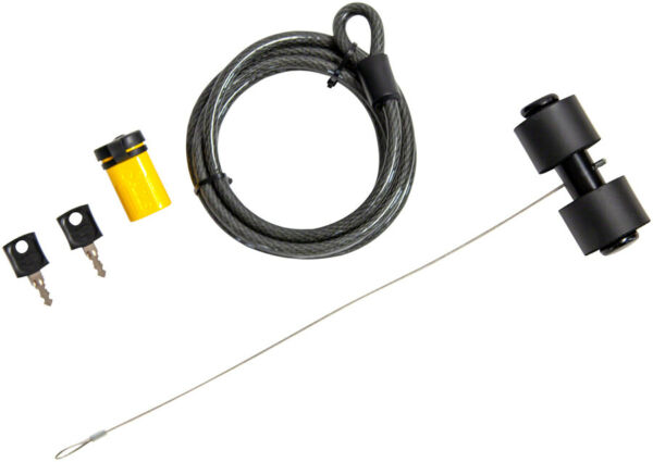 Saris Trunk Rack Lock Secures to Car Theft Prevention Security Bike Bicycle $51.38
