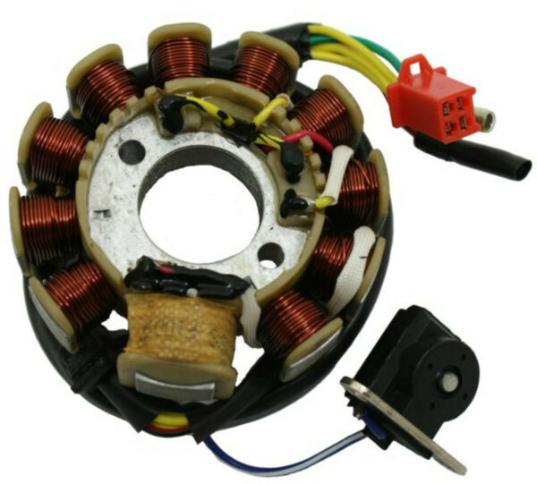 Universal Parts 11 Coil AC Stator for 150cc and 125cc GY6 4 stroke Motors164 103 $31.82