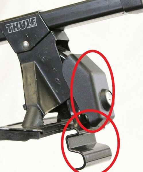 Thule Rack Adapter with Locks and Keys $25.00