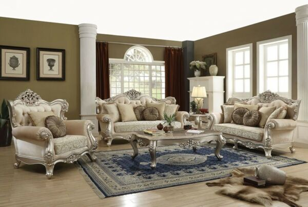 Acme Furniture Bently Sofa and Loveseat Living Room $2995.00