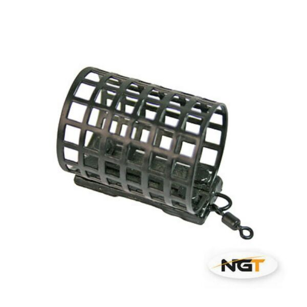 10 x Carp Coarse Match Barbel Fishing Tackle Cage Metal Feeders 20g NGT GBP 8.50