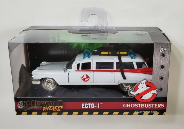 Ghostbusters ECTO 1 Metals Die Cast Car Hollywood Rides 1:32 Scale Jada Toys