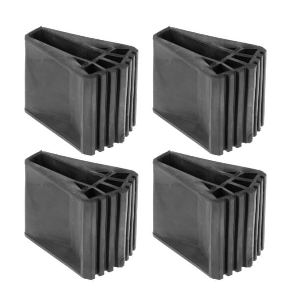 4 Pieces Ladder Feet Covers Rubber Furniture Protector Pads Caps Protectors $27.40