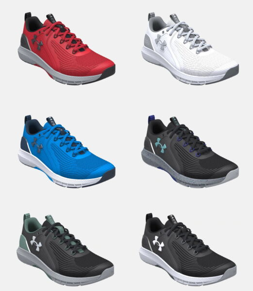 Under Armour Men#x27;s UA Charged Commit TR 3 Training Shoes 2021 Pick Color amp; Size