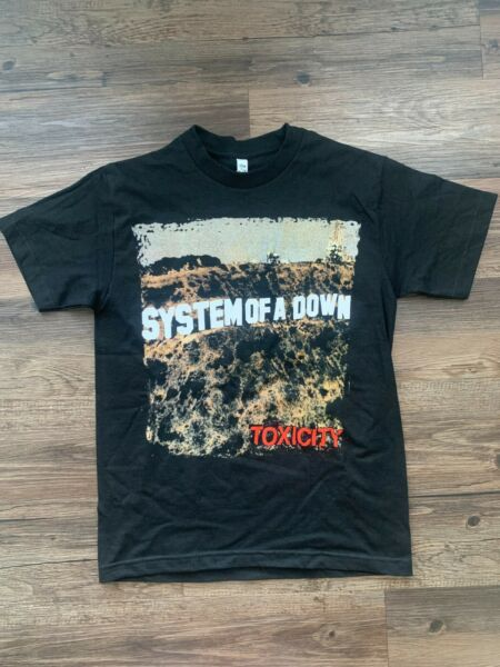 Officially Licensed System of a Down t shirt $13.99