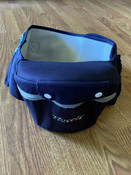ThreeH Tush Seat Hip Strap Baby Carrier 3 Pockets Navy Belt Fanny Pack $42.00