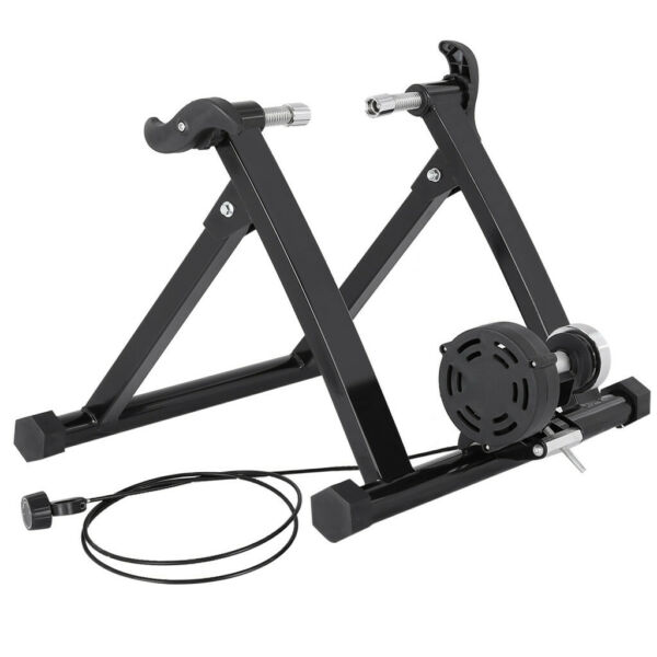 Indoor Bike Trainer Magnetic Exercise Stand Resistance Stationary for 24 28quot; US $106.88
