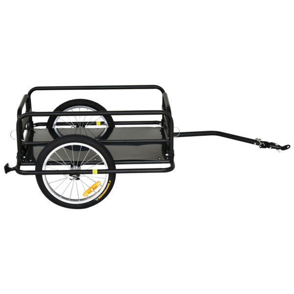 Bicycle Cargo Trailer Bike Wagon Utility Luggage Storage Cart Carrier with Hitch $163.99