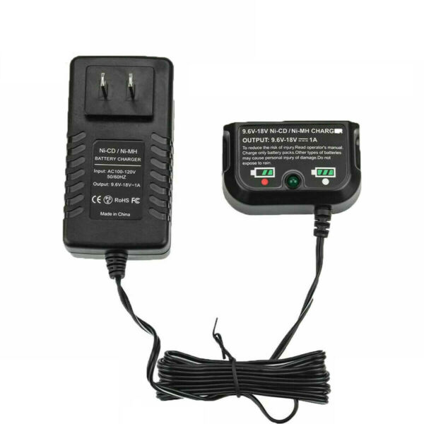 BATTERY CHARGER FOR BLACK AND DECKER 9.6VOLT 18VOLT HPB18 OPE 244760 00 HPB18