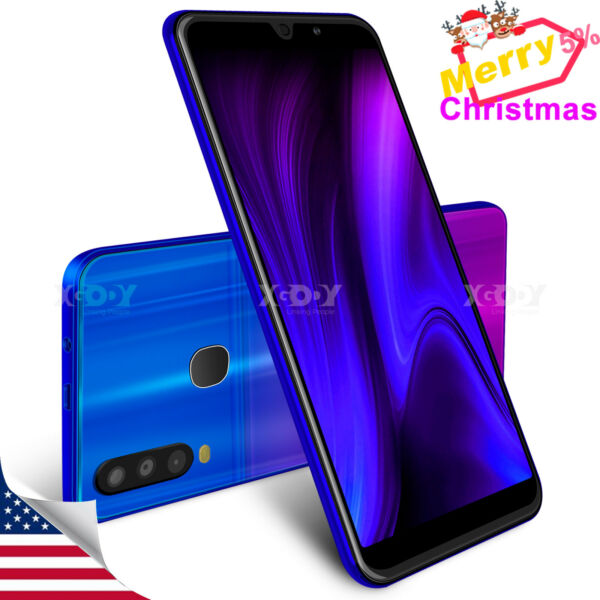 New 2021 Android Cheap Cell Phone Factory Unlocked Smartphone Dual SIM Quad Core $67.99