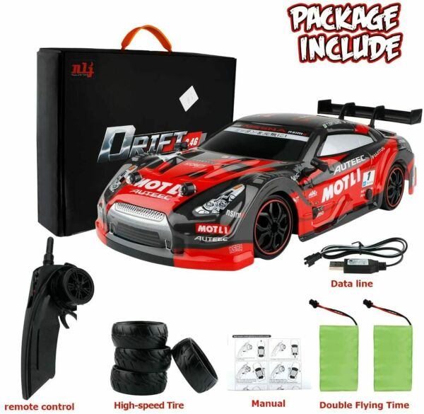 1 16 GT Drift Car RC Sport Racing Car 4WD RTR Vehicle for Adults Kids Gifts Toys $46.91