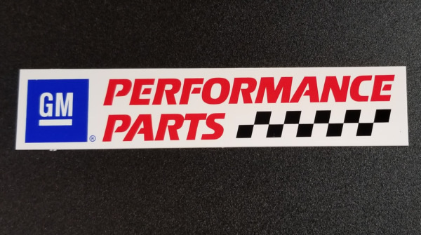 GM Performance Parts Original Vintage Racing 6quot; Small Decal Sticker Logo $4.50