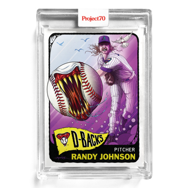 TOPPS PROJECT 70 #214 Randy Johnson by Alex Pardee 🔥 In Hand SHIPS TODAY