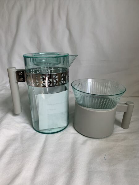 2015 Starbucks Iced Coffee Brewer Cone amp; Pitcher Pour Over Set 40 fl oz