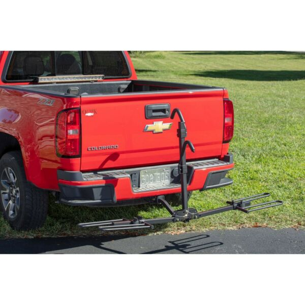 Hitch Mounted Platform 2 Bike Rack fits 1.25 and 2 Receivers sport carrier $69.96