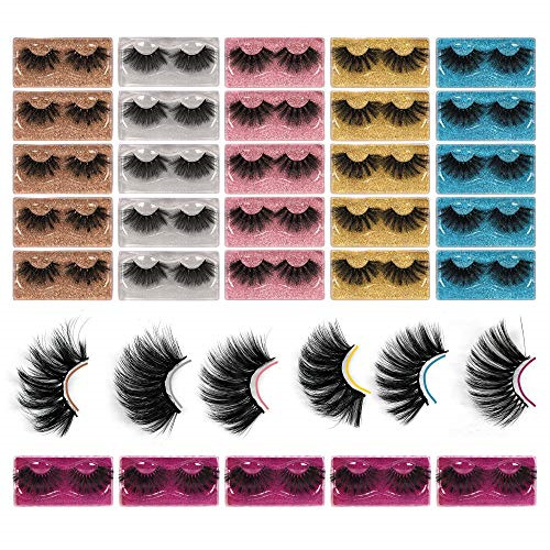 Winifred 25MM Lashes Wholesale Bulk 8D Faux Mink Lashes Pack 30 Pairs 6 Styles $39.35