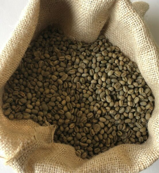 5 LBS BRAZIL JAZBLU PEABERRY UNROASTED GREEN COFFEE BEANS