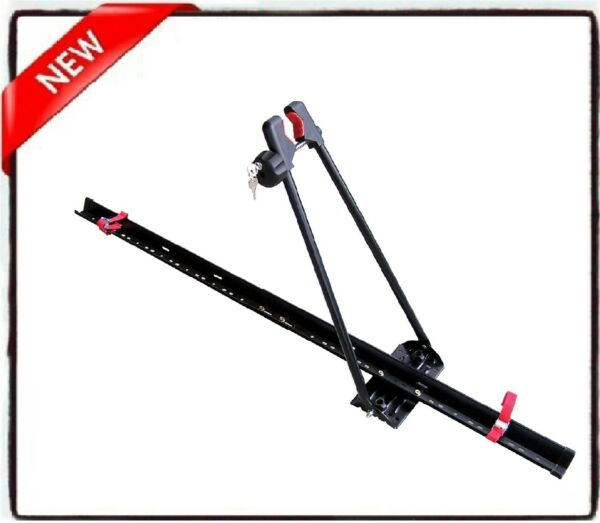locking upright bike roof rack mount carrier multiple units can be used s $59.95