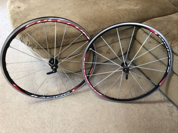 Fulcrum Racing 1 Wheelset Front Rear Wheels Alloy Clincher choice of freehub