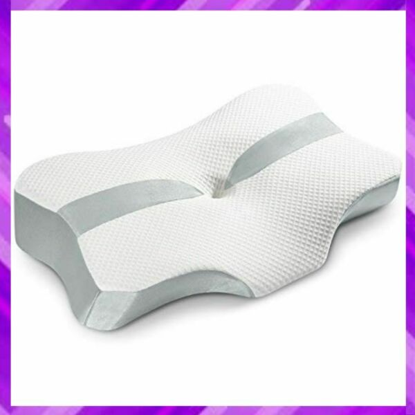 CONTOUR MEMORY FOAM Bed Pillow Orthopedic for Side Stomach Back Sleepers YARKOR $49.63