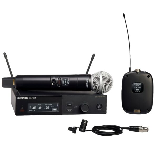 Shure SLXD124 85 Wireless System with WL185 Lavalier H55 Band $999.00