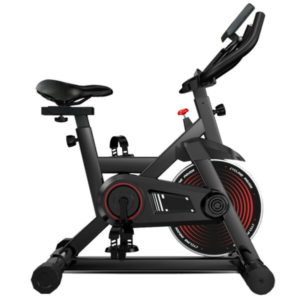 Exercise Bike Indoor Cycling Bicycle Stationary w LCD Display Home Cardio Gym $117.99
