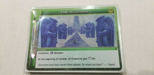 Chaotic TCG The Storms Rare Location