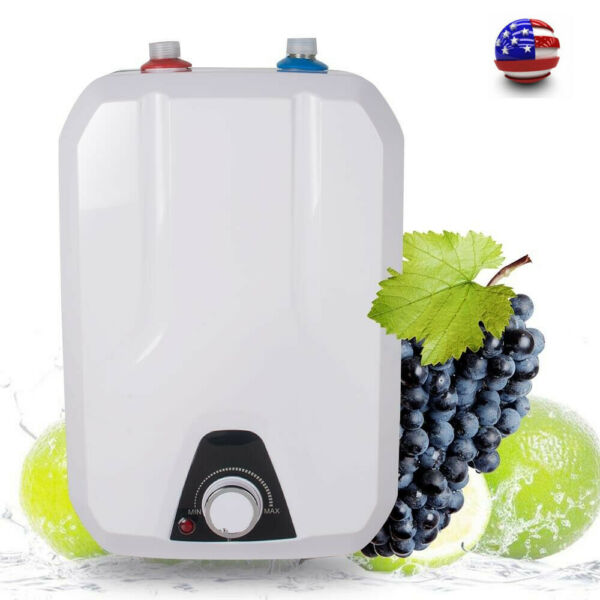 Popular Electric Tank Hot Water Heater Kitchen Bathroom Home 1500W 8L Home Use $83.00