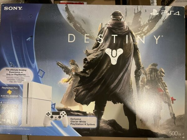 Playstation 4 Destiny Limited Edition Glacier White PS4 Console firmware 1.76 $849.99