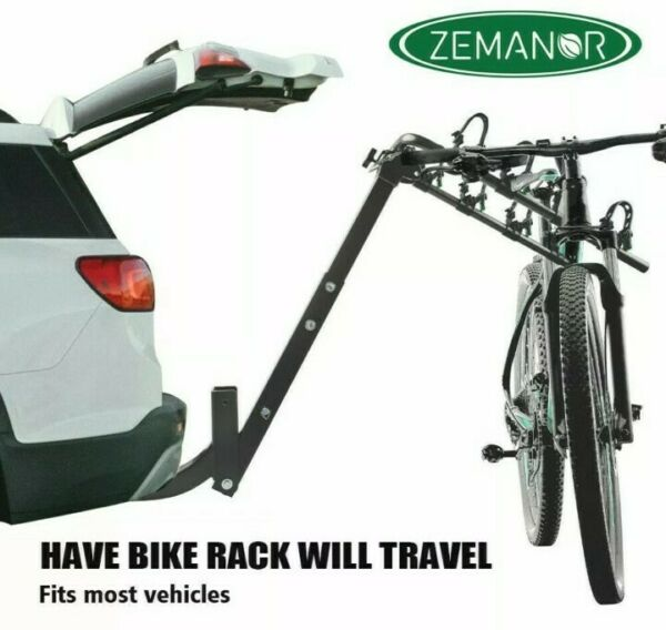 ZEMANOR 5 Hitch Mount Bike Rack Bicycle Carrier Cars Trucks SUV Strong All Steel $85.00