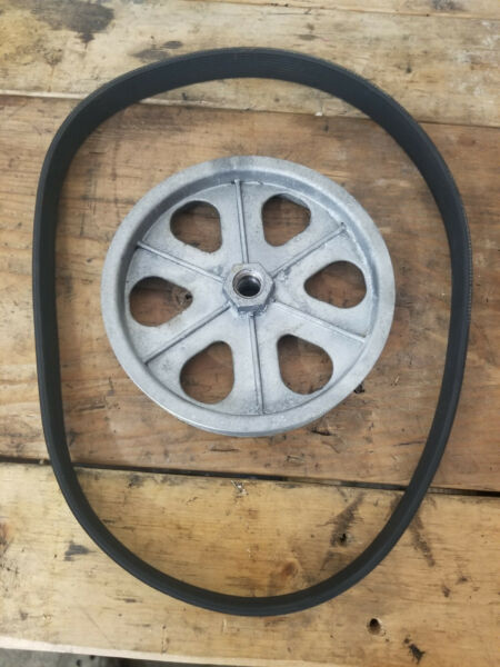 Craftsman Snow Thrower 536.881501 Auger Drive Pulley and Belt used