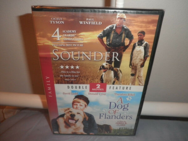 RARE Sounder Cicely Tyson amp; Dog Of Flanders BRAND NEW DVD SET OOP Family Films $22.50