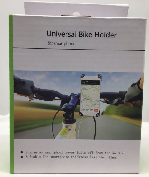 UNIVERSAL BIKE HOLDER CH 01 FOR SMARTPHONE GPS AND OTHER DEVICES $8.99