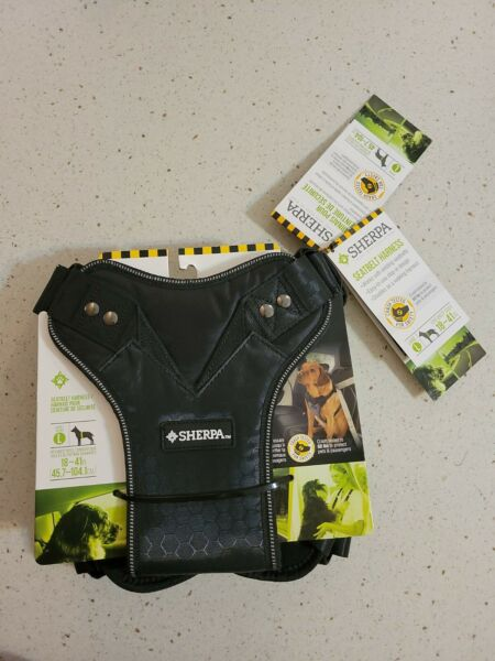 Large Dog Up to 60# Sherpa Easy Step In SEAT BELT amp; Walking Harness $18.99
