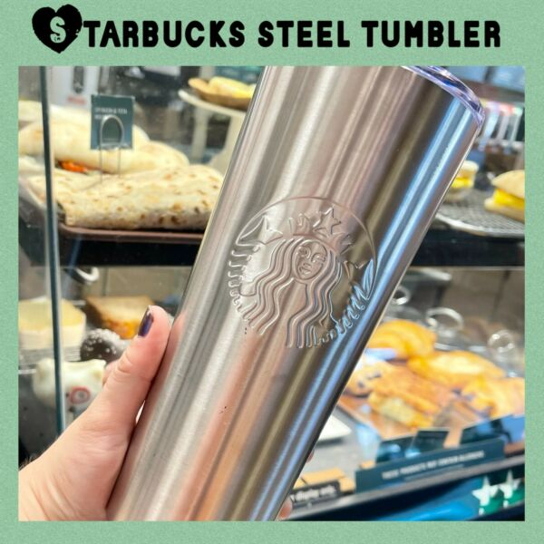Stainless Steel Starbucks Tumbler Cup Limited Edition Starbucks Steel Cup amp; Lid