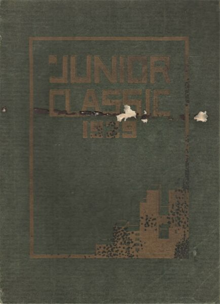 RARE 1929 quot;Junior Classicquot; Central Jr. High School Yearbook South Bend IN $49.99