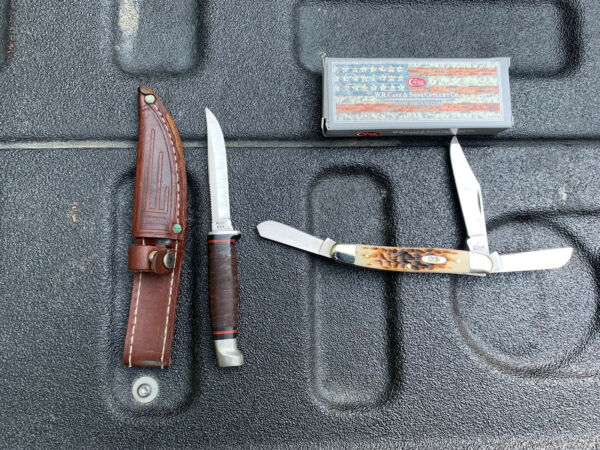case knives stockman And Fixed Blade