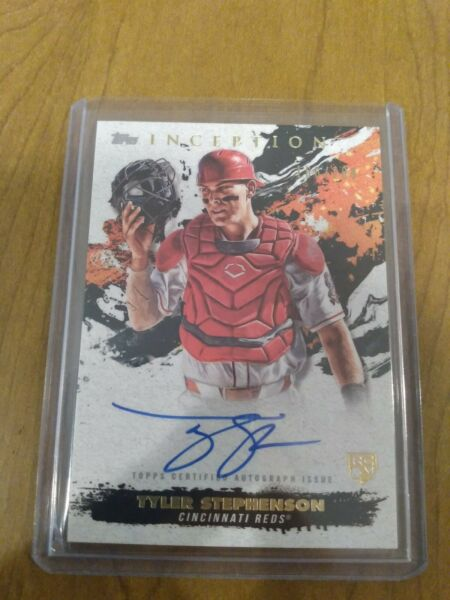 2021 Topps Inception Rookie Emerging Star Autograph Tyler Stephenson AUTO 200 $30.00