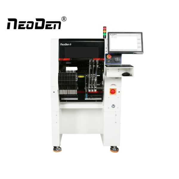 New NeoDen9 6 Head SMT Pick and Place Machine Ball Screw 53 Electric Feeders $13999.00