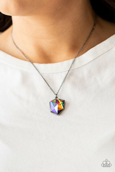 Paparazzi Stellar Serenity Multi OIL SPILL 🌈 Necklace 🔥NEW RELEASE 2021🔥
