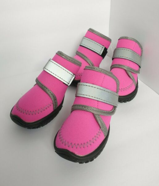 Pink Adorable Puppy Dog Snow Boots Size XS Brand New FAST SHIPPING $7.19