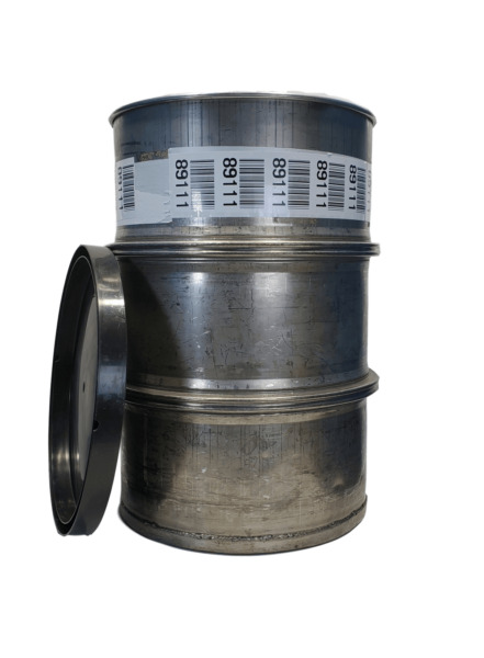 Used 55 gallon Stainless Steel Barrel Drum Open Top 316 Sanitary #2 $229.00