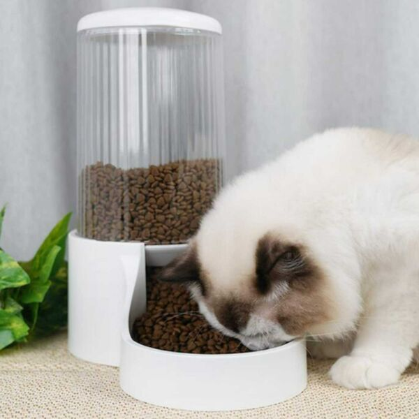 Automatic Pet Feeder Food Water Dispenser for Indoor Dogs Cats Pet Feeding $40.34