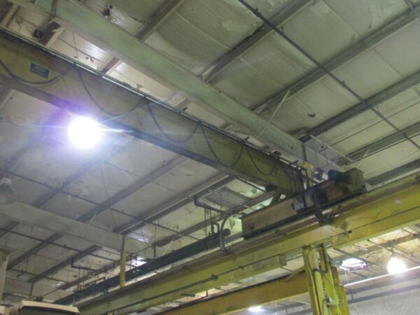 One 10 Ton Crane amp; One 20 Ton Crane Made In USA Under Power Two For A Deal $19000.00